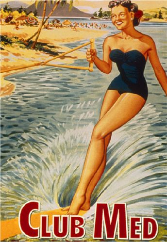 Club Med reclame jaren '50