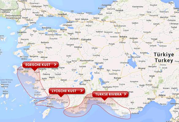 Turkse kusten