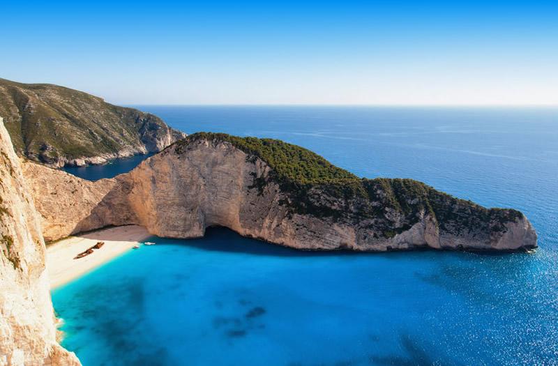 Mooiste stranden van Europa - Zakynthos